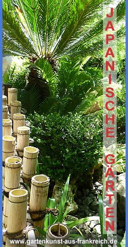 Französische Gärten, Japanische Gärten, Chinesischer